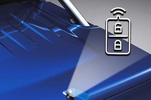 Tonneau cover - Remote Locking Kit - FLA