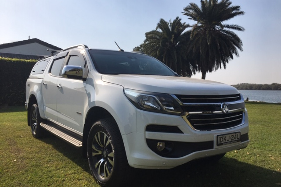 2016 Holden Colorado RG MY16 LTZ Dual cab