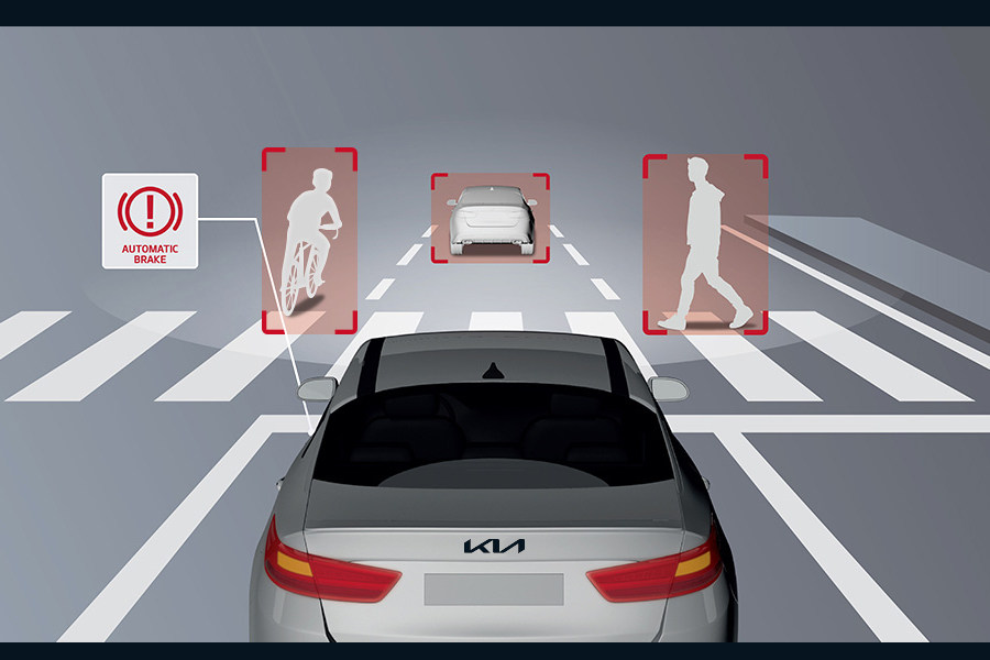 New Cerato Sedan Autonomous Emergency Braking