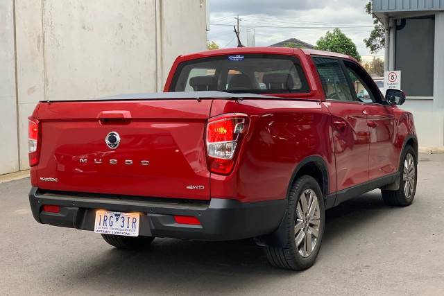 2019 SsangYong Musso Ultimate Plus 3 of 22
