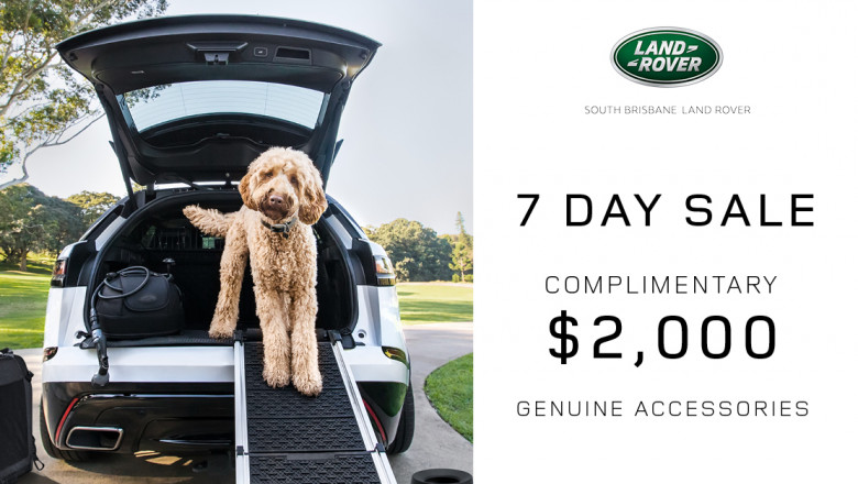 Land Rover Day Sale