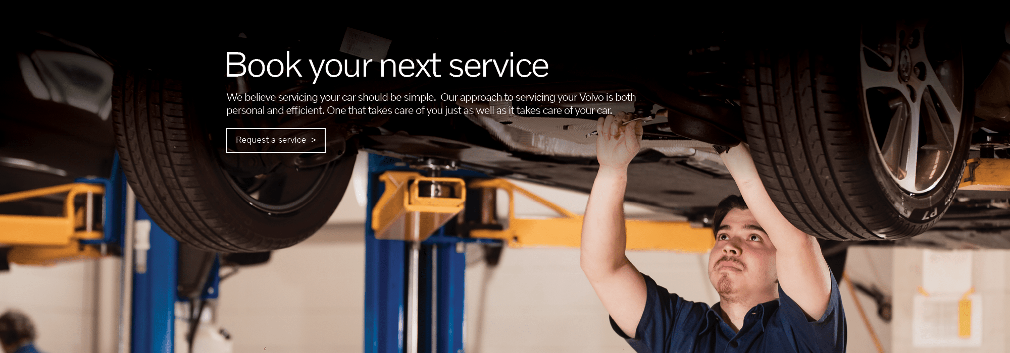Book your Volvo Service