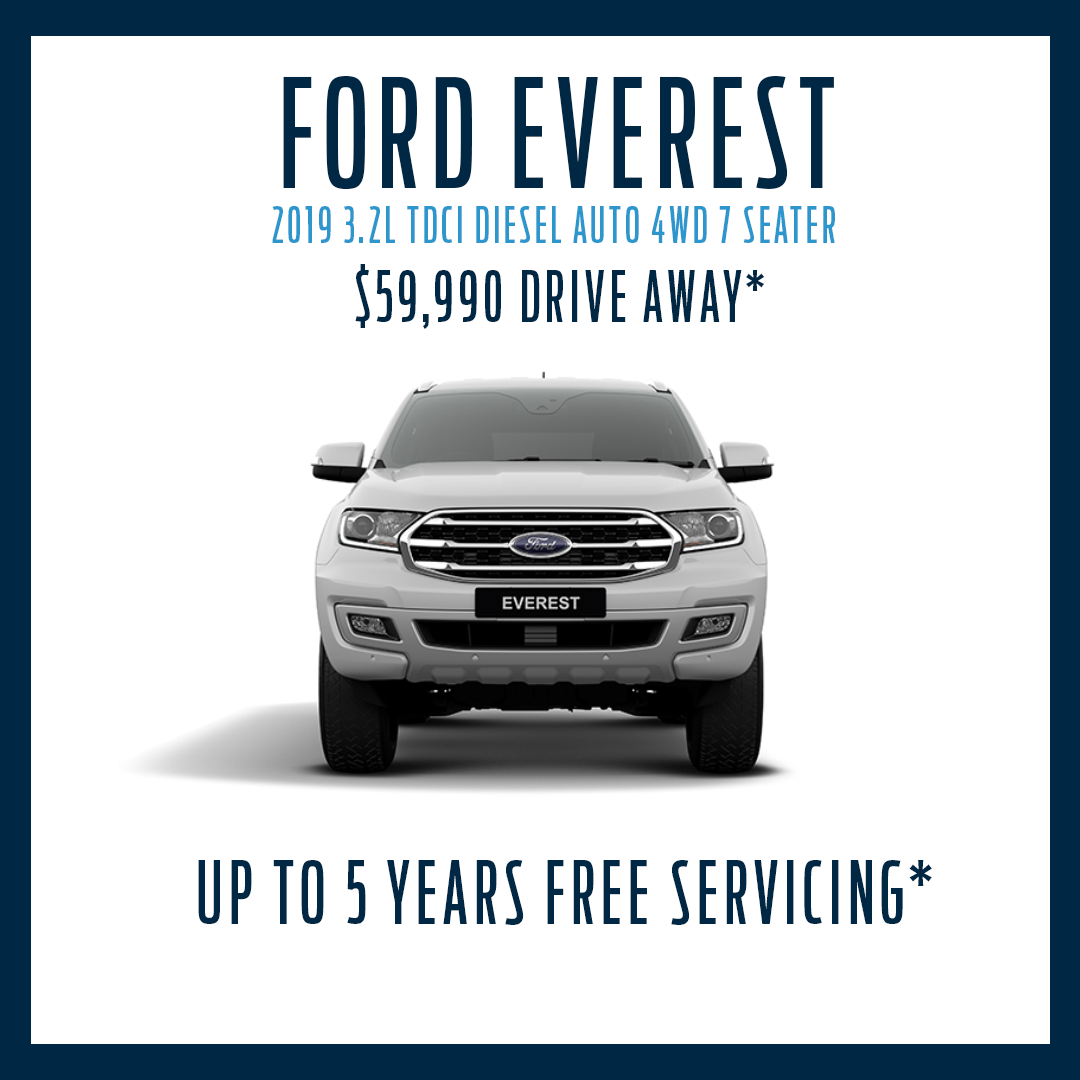 MY19 Everest Trend 4WD With Free Servicing*