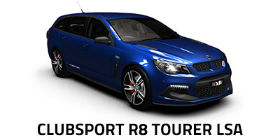 New HSV ClubSport R8 Tourer