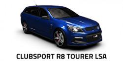 New HSV ClubSport R8 Tourer