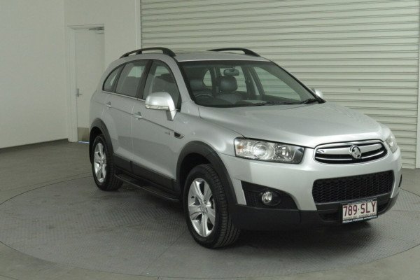 2012 Holden Captiva Vehicle Description. CG  II MY12 7 CX WAG SA 6SP 2.2DT 7 Suv Image 4