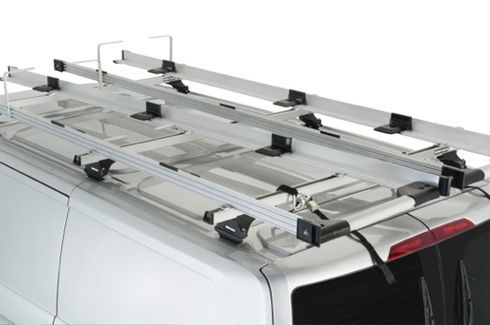 Carry Bar Ladder Rack System - Rhino- Rack w/o Conduit