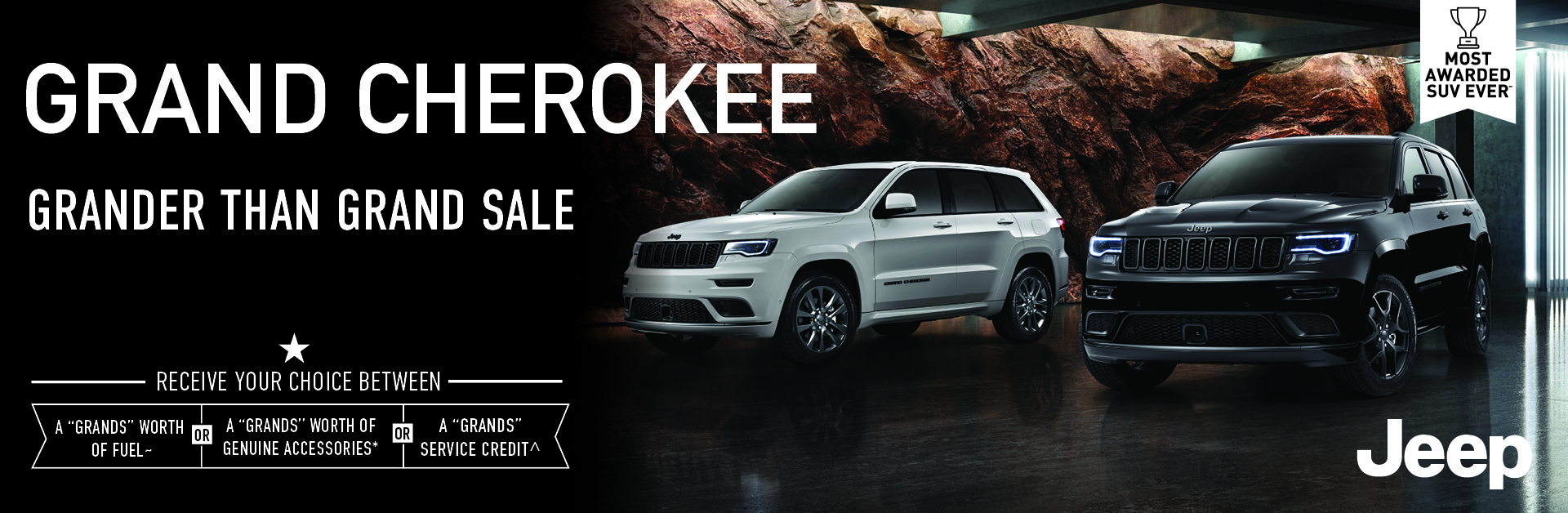 Grand Cherokee - Grander than Grand Sale