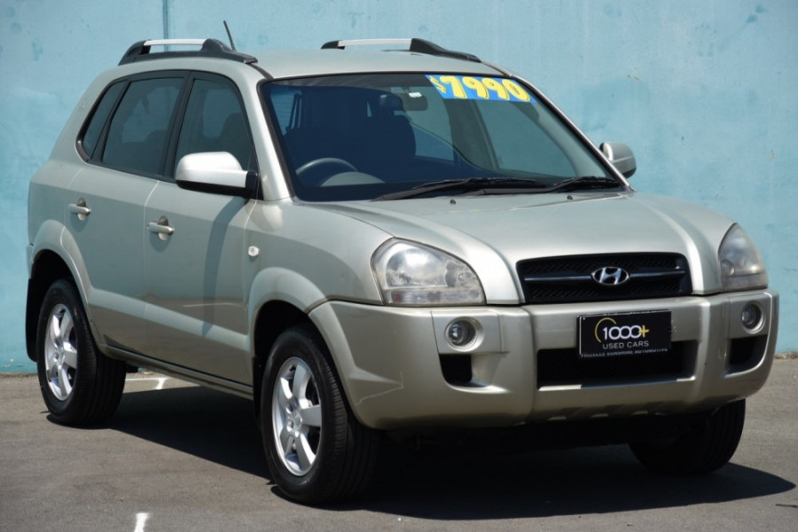 2007 Hyundai Tucson JM City Suv
