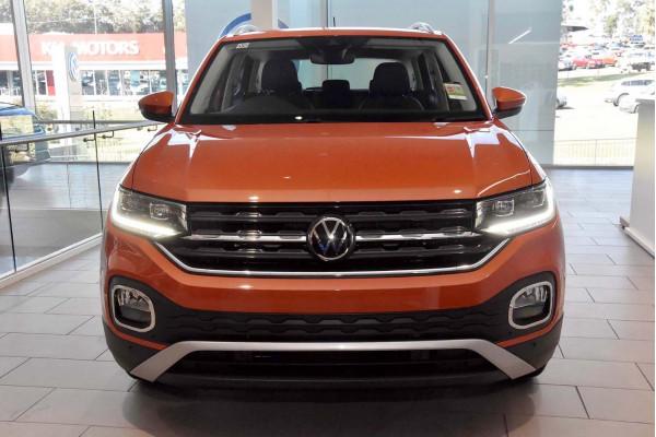 2021 Volkswagen T-Cross C1 85TSI Style Wagon Image 3