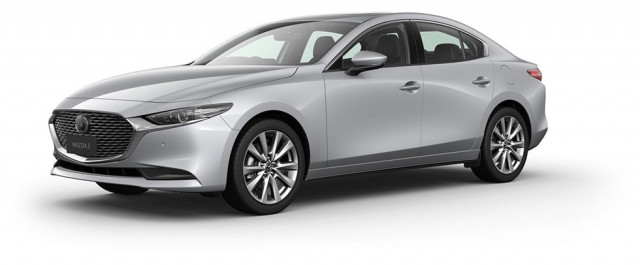 2020 Mazda 3 BP G25 Astina Sedan Sedan Mobile Image 1