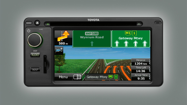 "<img src=""Audio Visual Unit with Satellite Navigation"