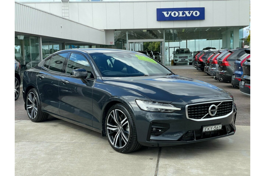 2019 MY20 Volvo S60 Z Series MY20 T5 Geartronic AWD R-Design Sedan