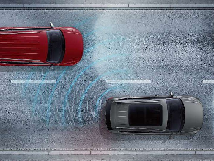 It feels good to know it's got your back. Driver Assistance package Image