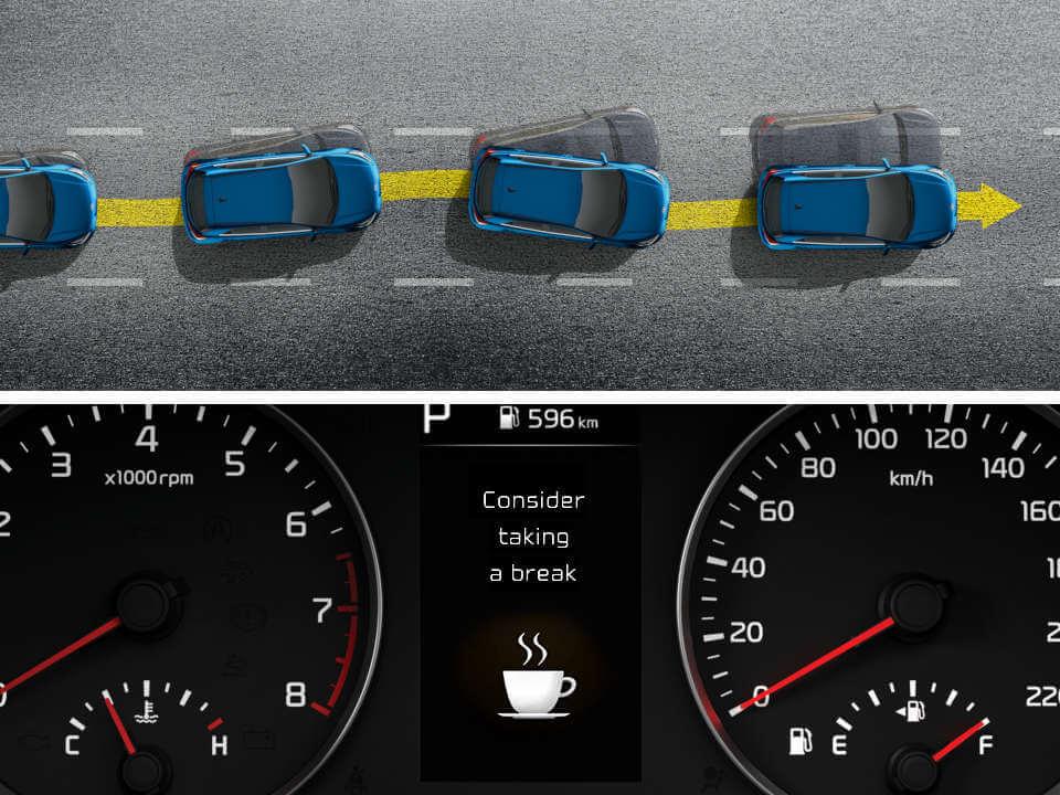 Driver Attention Alert (DAA)