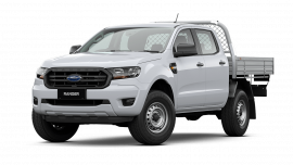 2021 MY21.25 Ford Ranger PX MkIII XL Double Cab Chassis Cab chassis