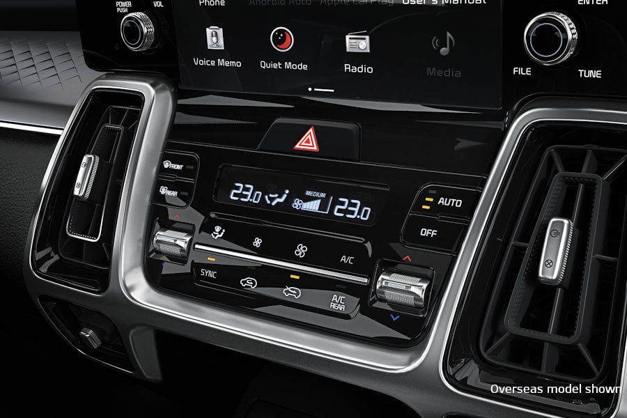 3-Stage Automatic Climate Control
