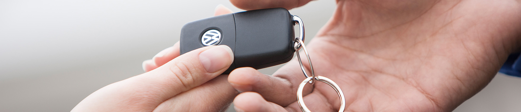 Handing over the keys to your new Volkswagen in Brisbane, Queensland.