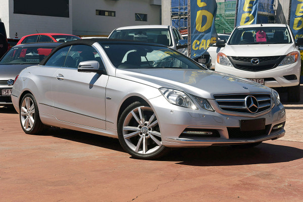 2011 MY12 Mercedes-Benz E350 A207 MY12 BlueEFFICIENCY Cabriolet Image 2