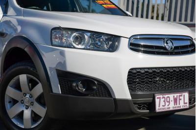 2013 Holden Captiva CG Series II MY12 7 SX Suv Image 2