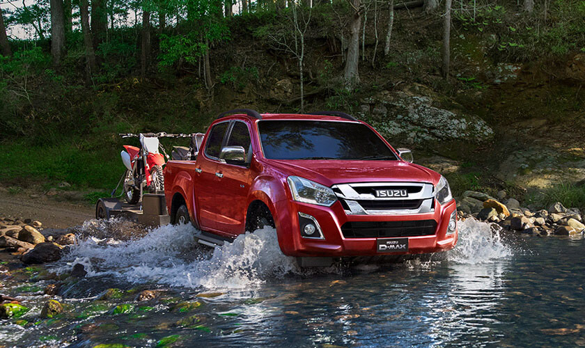 Isuzu UTE A Maximum 5-star Safety Rating For Your Protection
