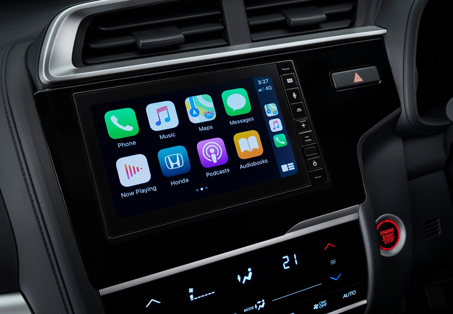 Jazz Apple CarPlay & Android Auto