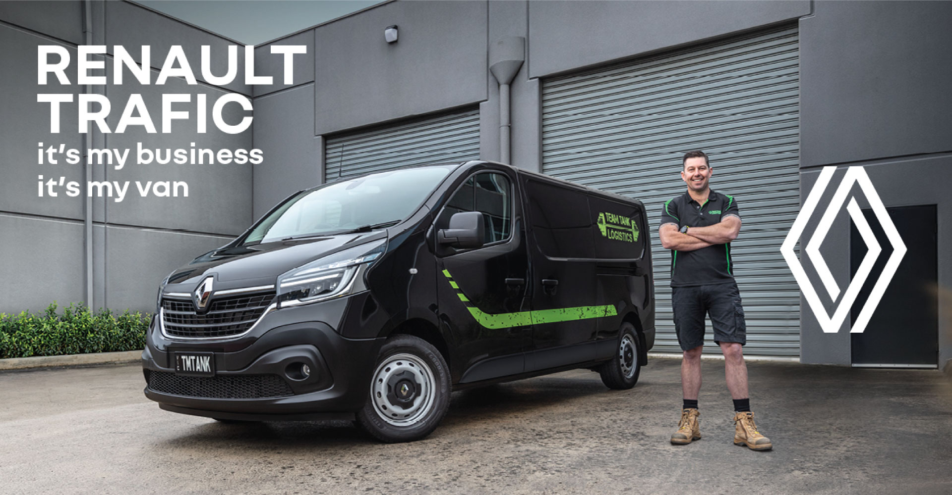 RENAULT | TRAFIC VANS IN STOCK AND READY TO WORK
