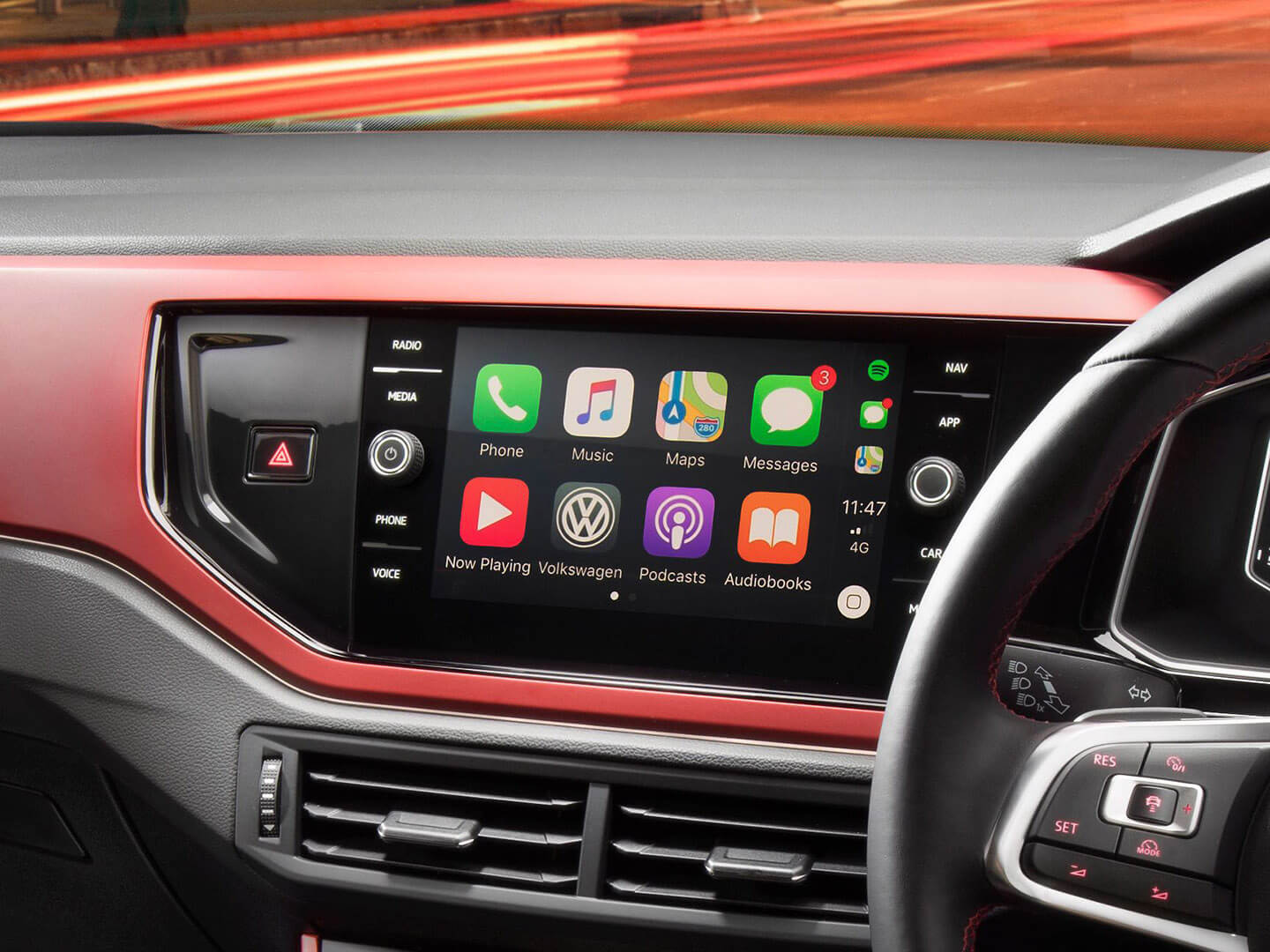 A screen that does it all Infotainment System Image