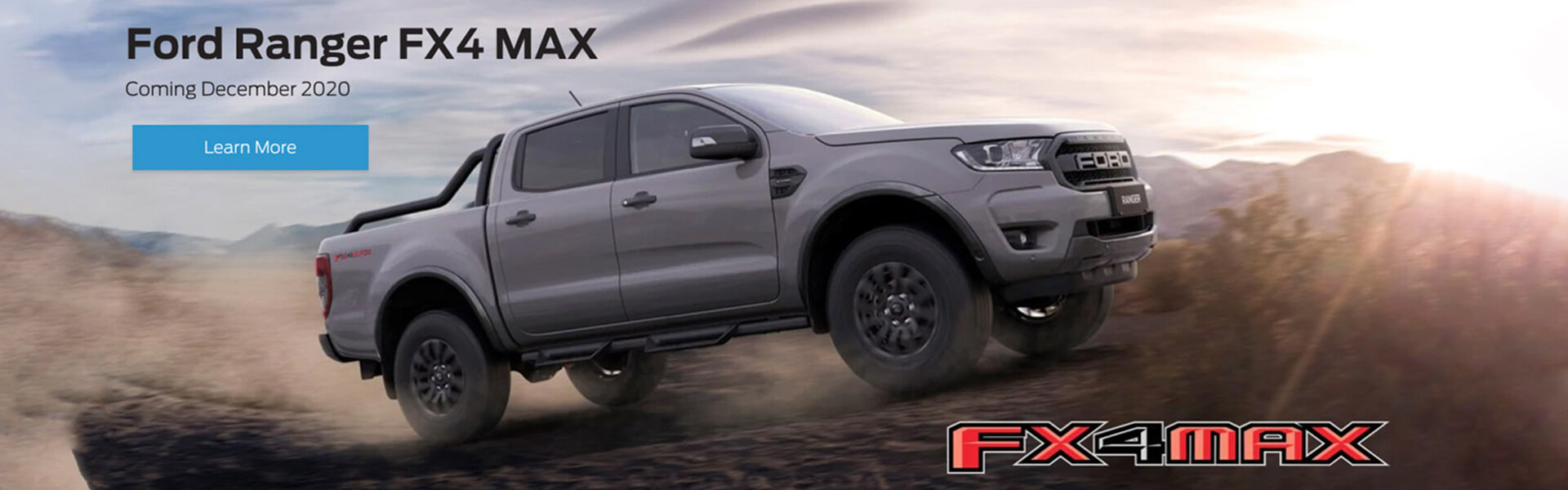 Ford Ranger FX4 MAX - Coming December 2020