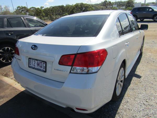 2009 MY10 Subaru Liberty B5 MY10 3.6R Sedan
