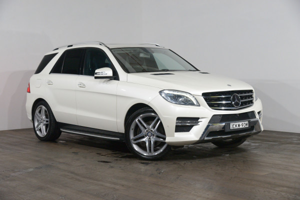 Mercedes-Benz Ml 350cdi Bluetec (4x4) Mercedes-Benz Ml 350cdi Bluetec (4x4) Auto