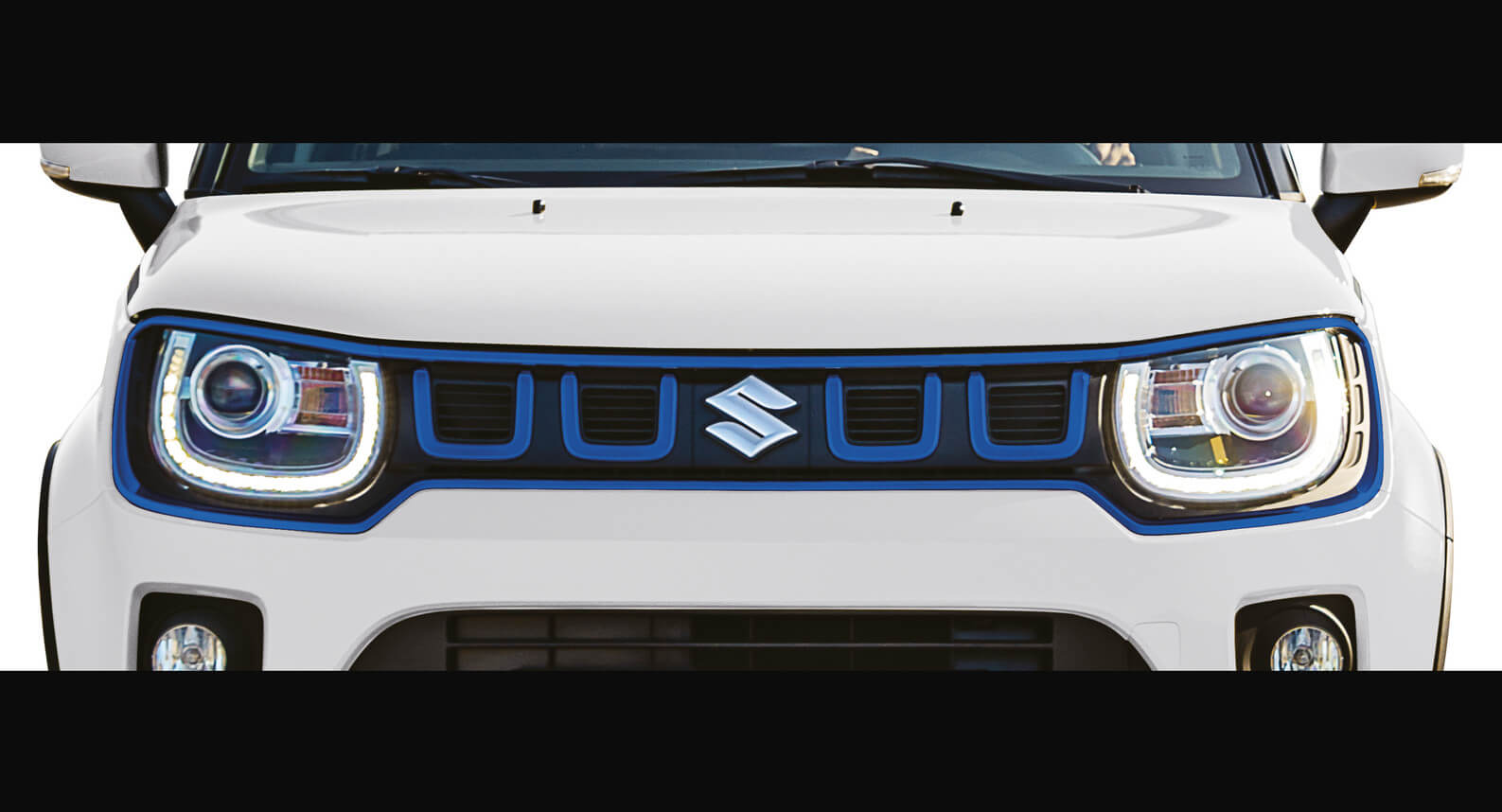 Ignis - Front Grille, Blue