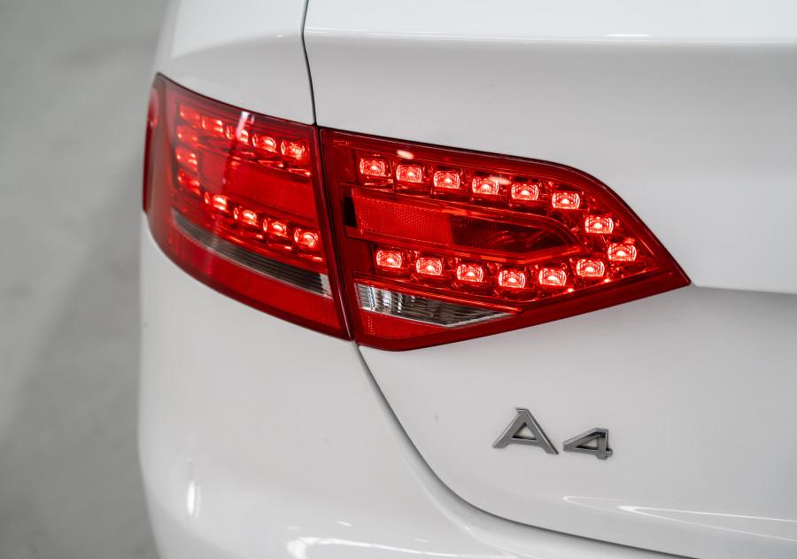 2011 Audi A4 Audi A4 2.0 Tfsi Quattro Auto 2.0 Tfsi Quattro Sedan