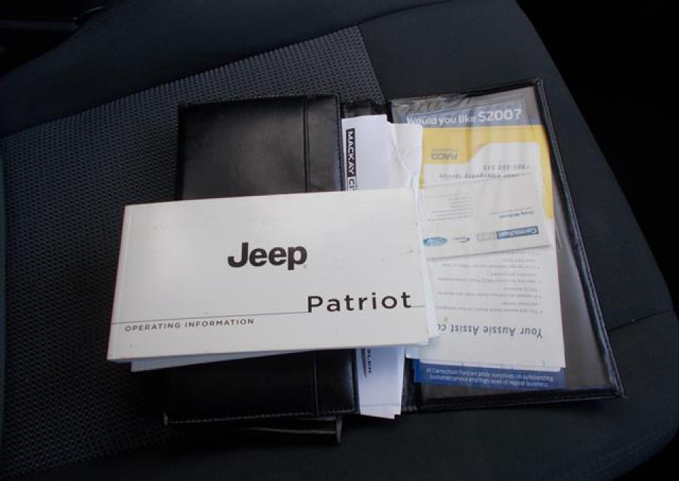 2012 MY13 Jeep Patriot MK  Sport Wagon