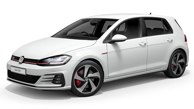 2019 MY19.5 Volkswagen Golf 7.5 GTi Hatchback