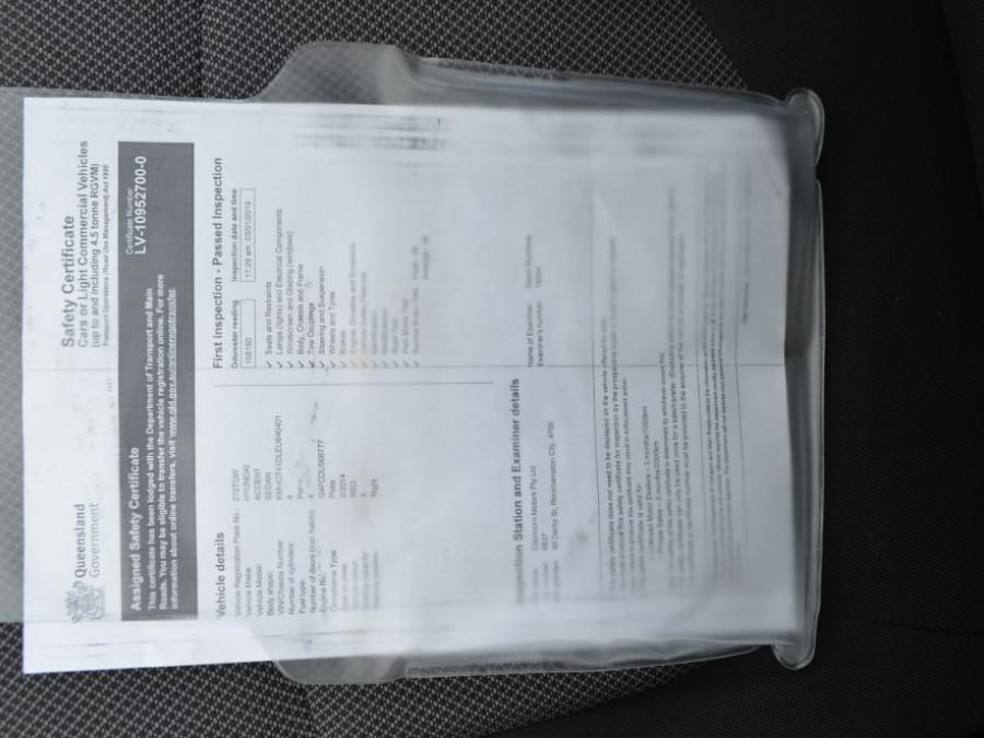 2014 Hyundai Accent 4dr Sed 1.6lt Mtm RB Sedan Sedan