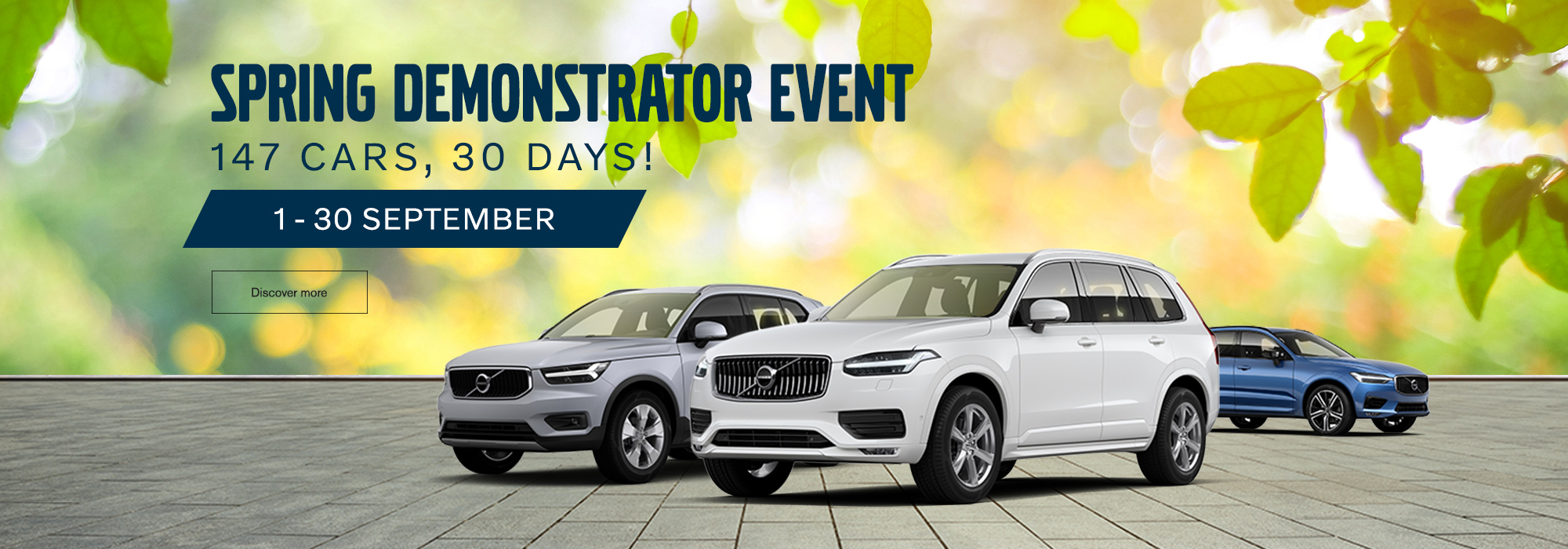 Volvo Spring Demonstrator Event
