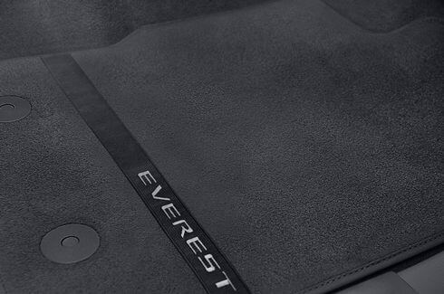 Mats Carpet Front - Everest Logo