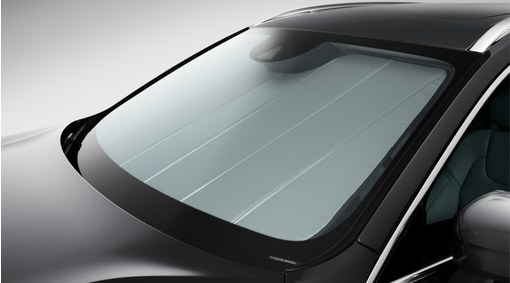 Sunshade for windscreen