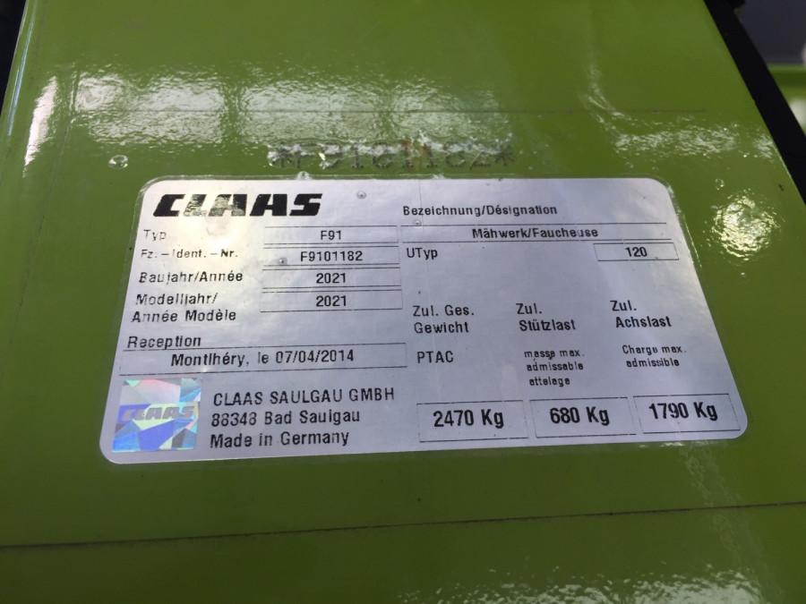2021 CLAAS D13600TRC Hay mower Image 6