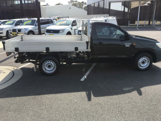 2012 Toyota HiLux TGN16R Workmate 2wd