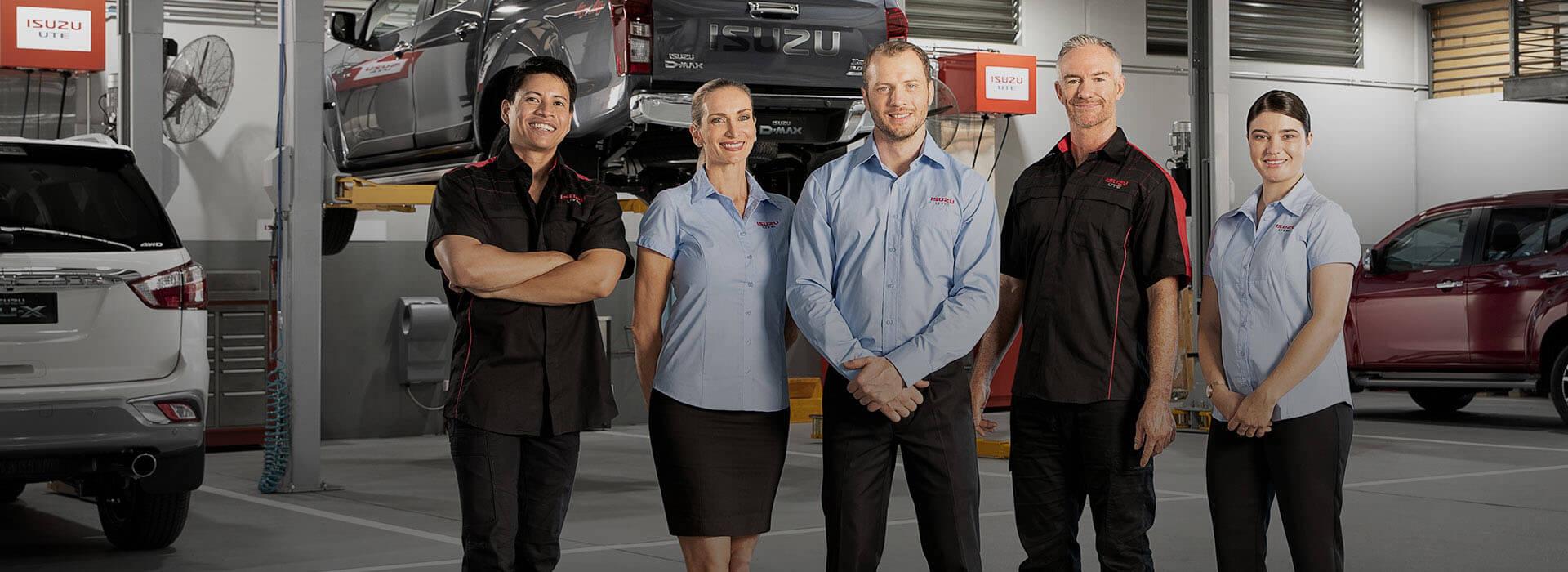 Gold Coast Isuzu UTE Service