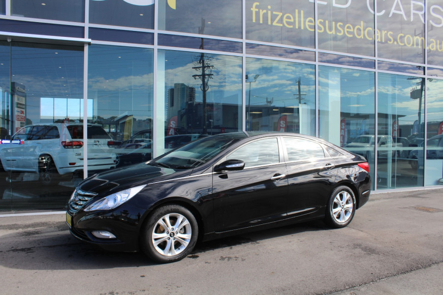 2011 Hyundai I45 YF MY11 Elite Sedan
