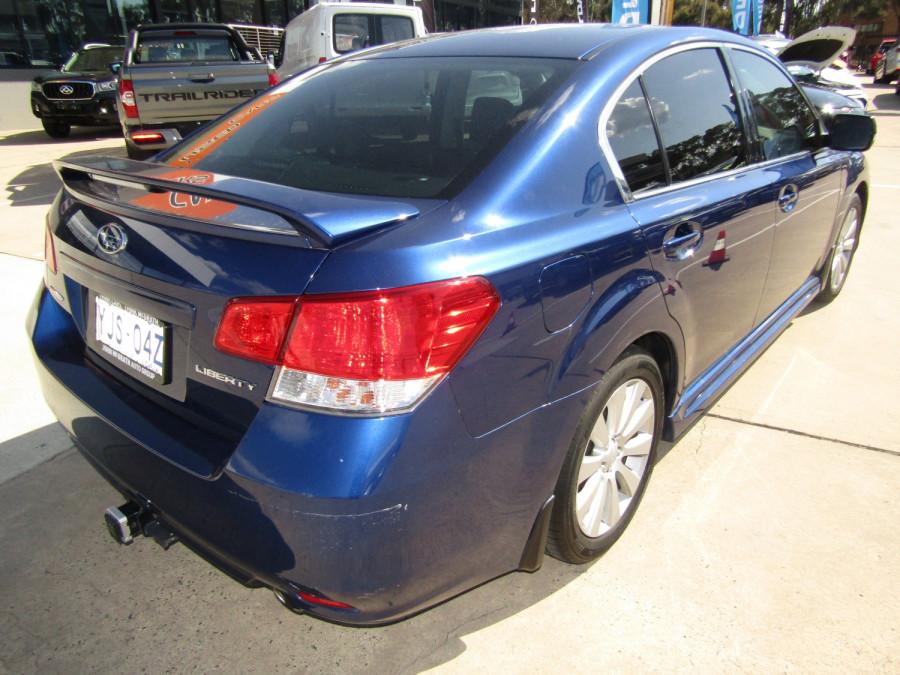 2010 Subaru Liberty B5  3.6R Premium Sedan Image 3
