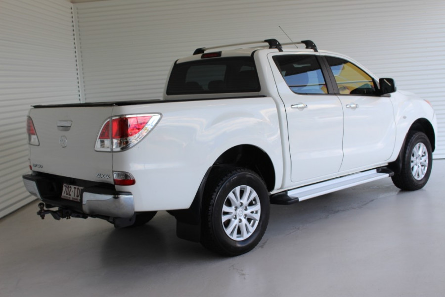 2012 Mazda BT-50 UP0YF1 GT Crew cab