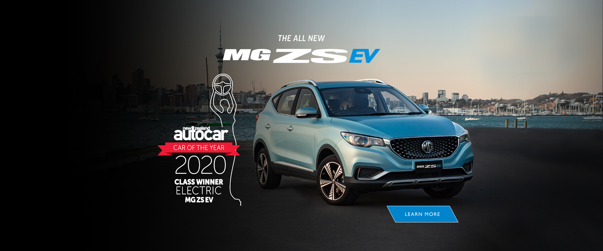 The new MG ZS EV. Electric for Everyone.