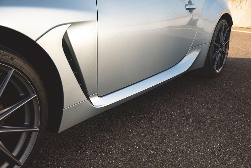 Improved aerodynamics Image