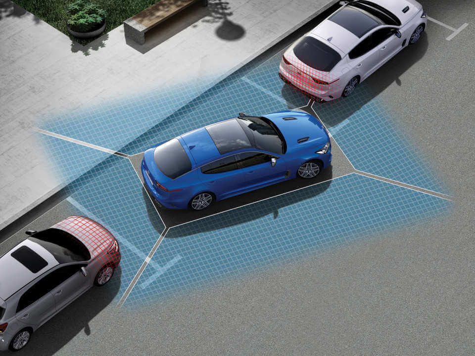 360 degree Camera View and front/rear parking sensors
