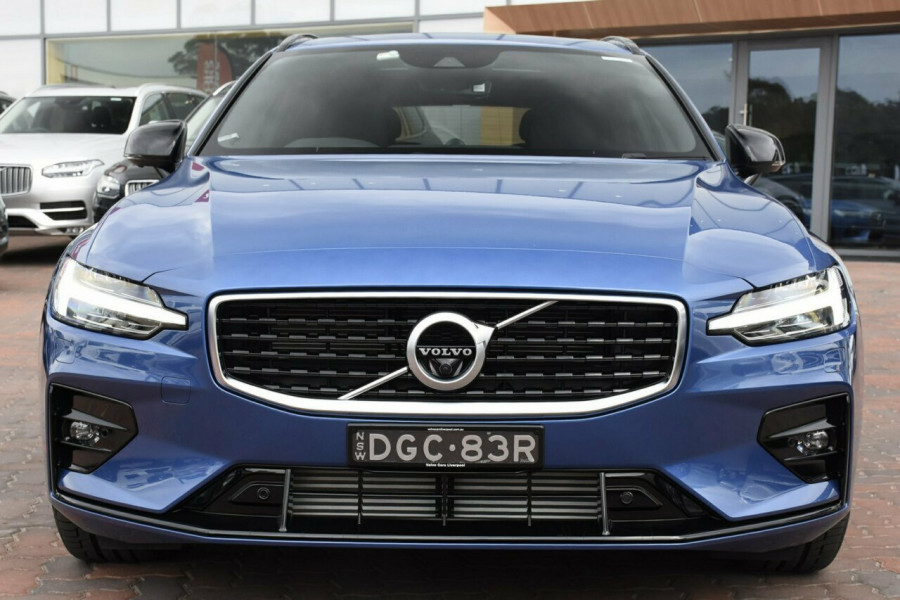 2019 MY20 Volvo V60 Z Series MY20 T5 Geartronic AWD R-Design Wagon Mobile Image 16