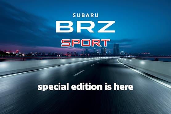 BRZ 2.0 Premium Sport<sup>1</sup>
